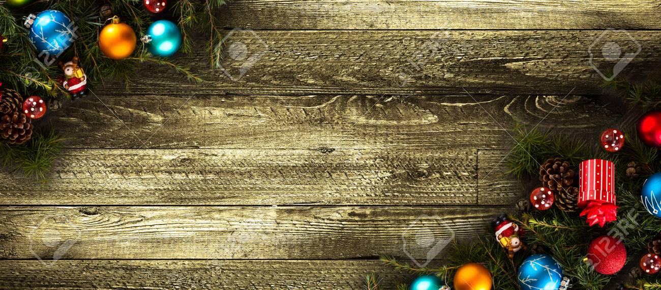 Frohe Weihnachten Rahmen.Stock Photo