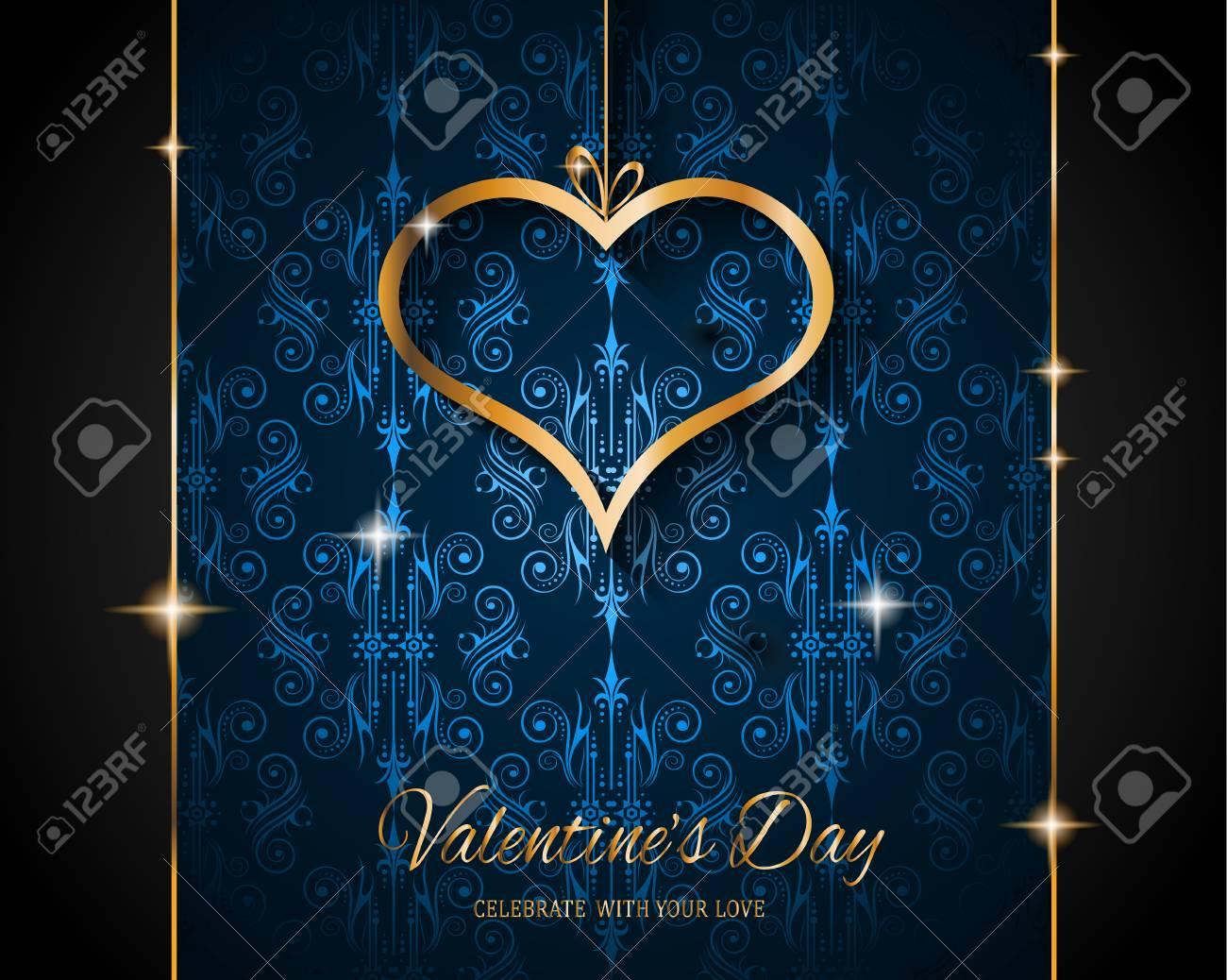 Valentinstag Restaurant Menu Vorlage Hintergrund Fur Romantische