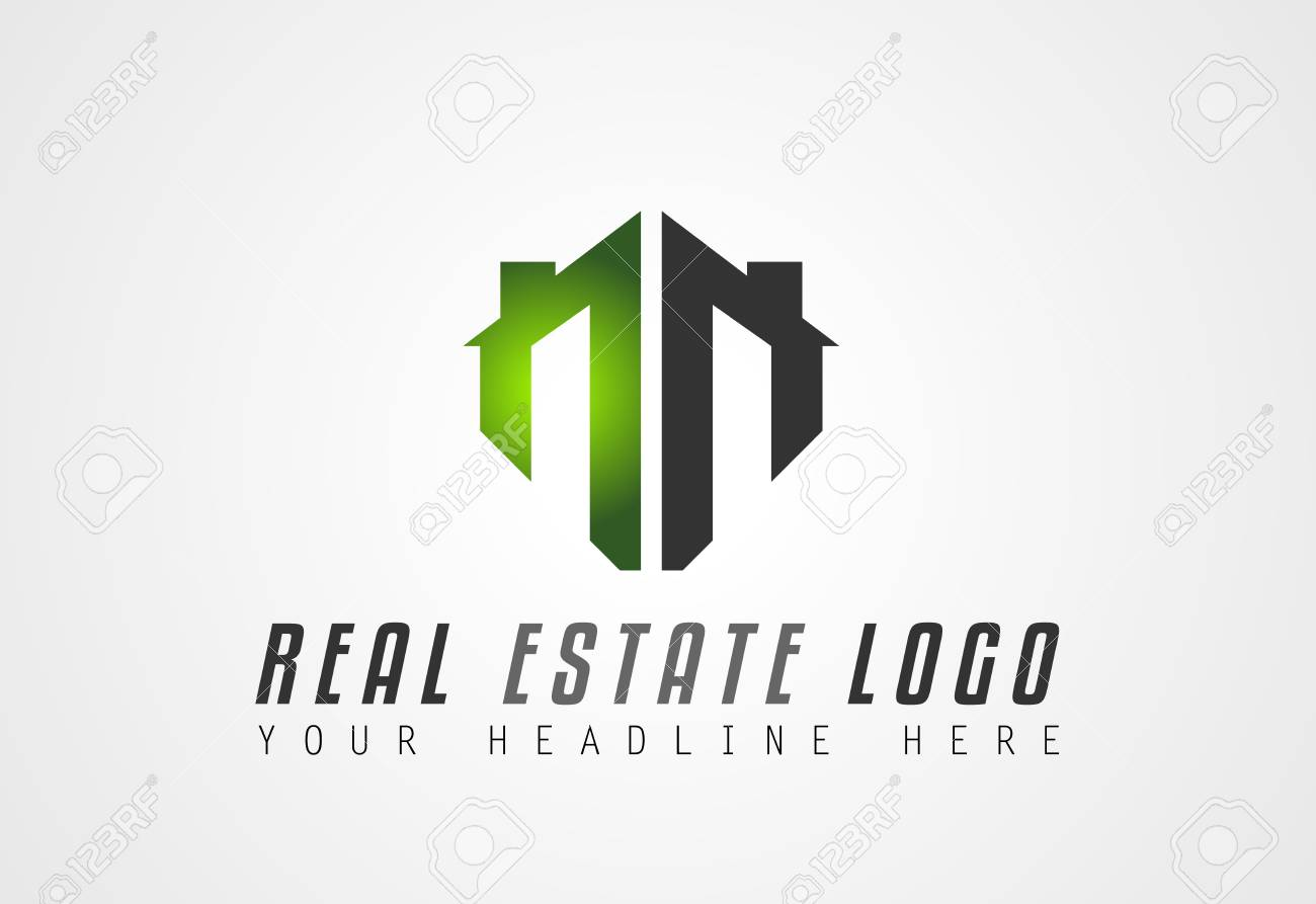 Creative Real Estate Logo Design For Brand Identity Company Profile Or Corporate Logos With Clean