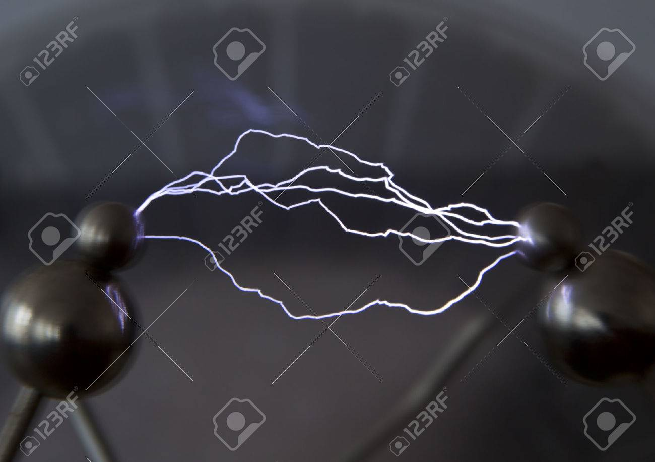 This artificially created by an electrical discharge in the air. - 40592932