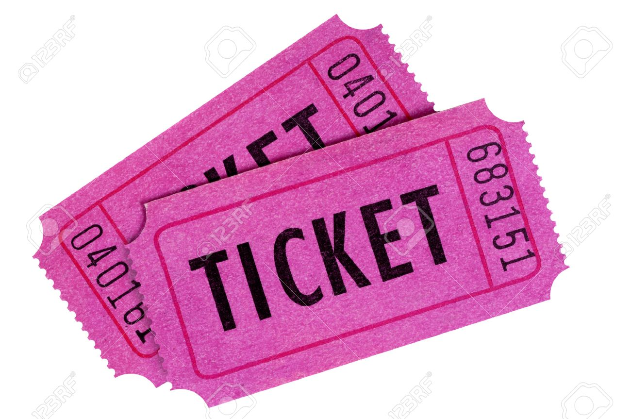 raffle ticket stock photos images royalty raffle ticket raffle ticket two purple or pink raffle or movie tickets isolated on a white background