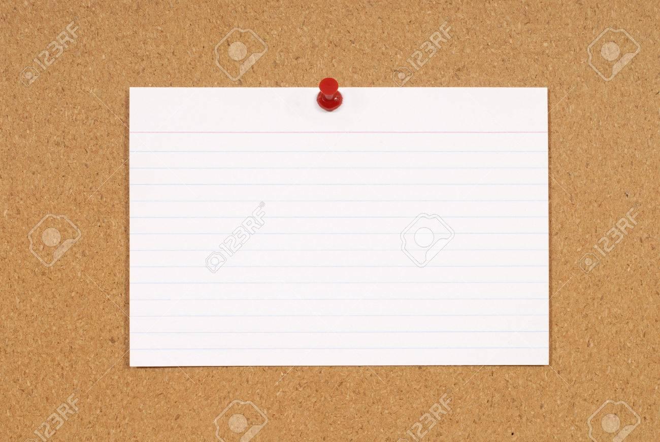 De Corcho O Tablón De Anuncios Con Blanco En Blanco Tarjeta De ...