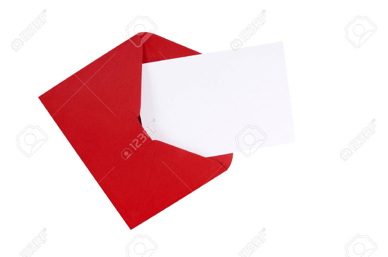 Red envelope with blank white greeting card stock photo picture and red envelope with blank white greeting card stock photo 43866229 kristyandbryce Gallery