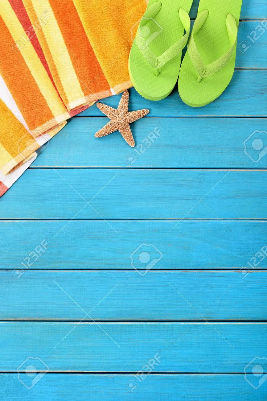 a7afaaff4d4294 Summer Beach Objects Border