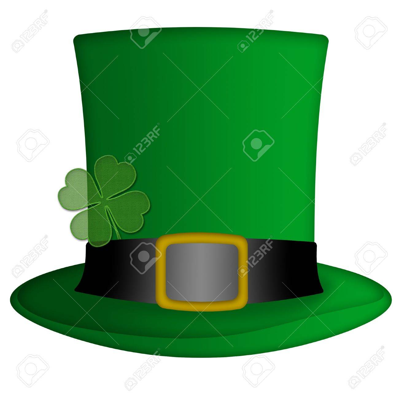 St Patricks Day Irish Leprechaun Hat Illustration Stock Illustration - 8937980