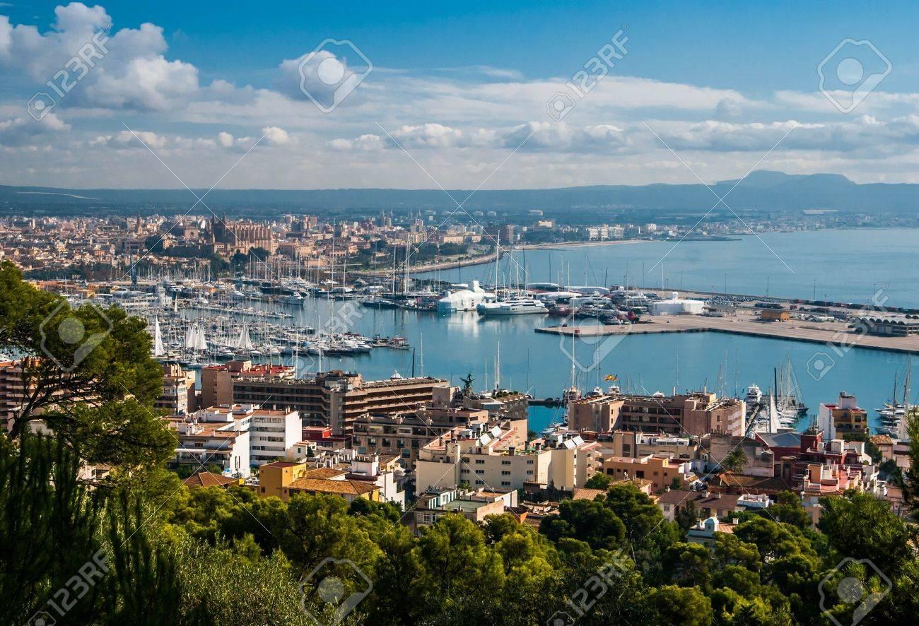 Overview of Palma de Majorca Stock Photo - 18284422