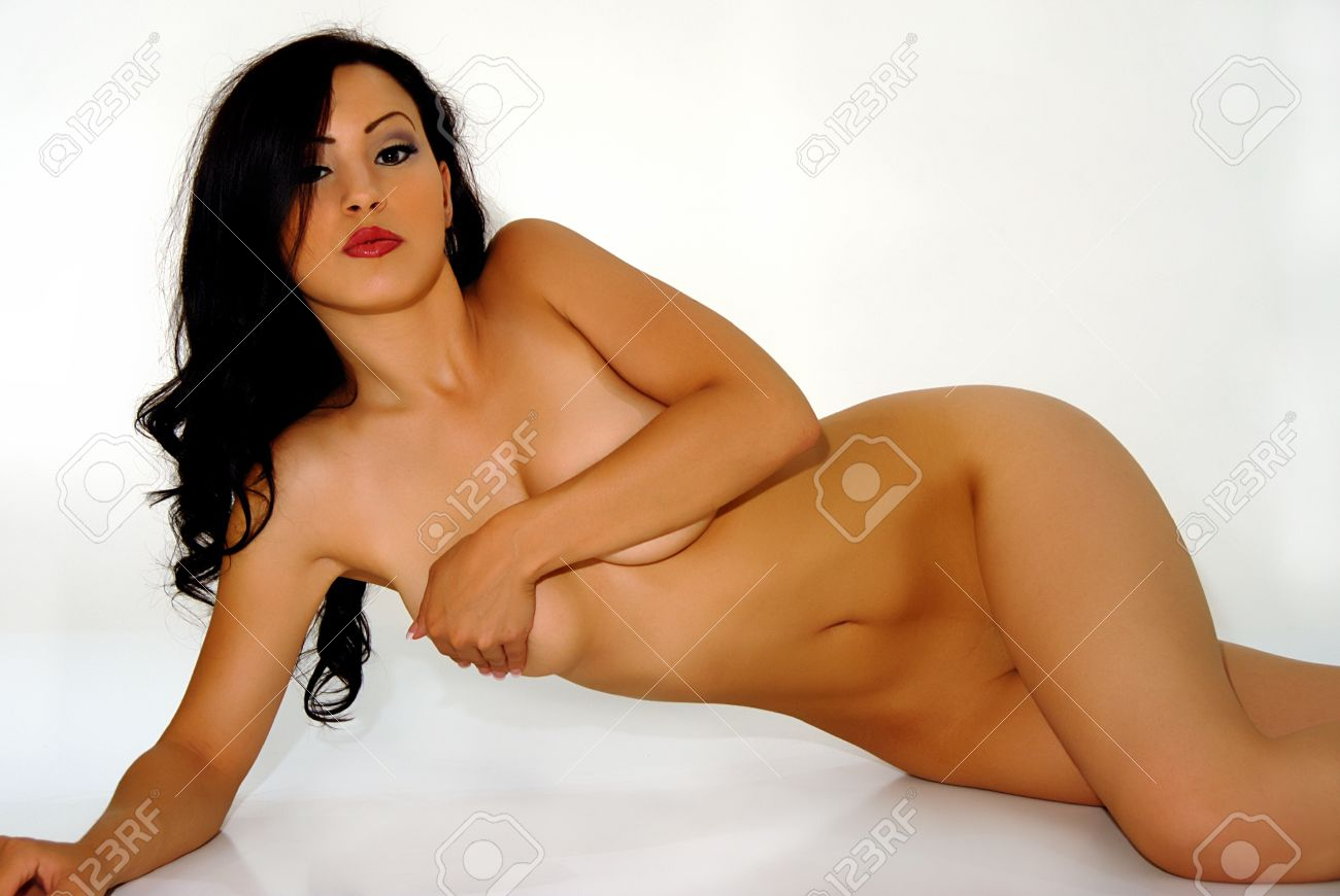 Glamour model naked