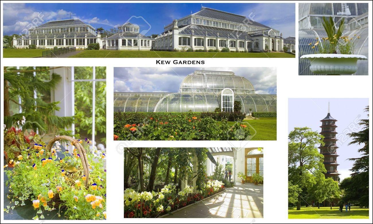 Una Foto Postal Del Real Jardín Botánico De Kew Kew Gardens Londres ...