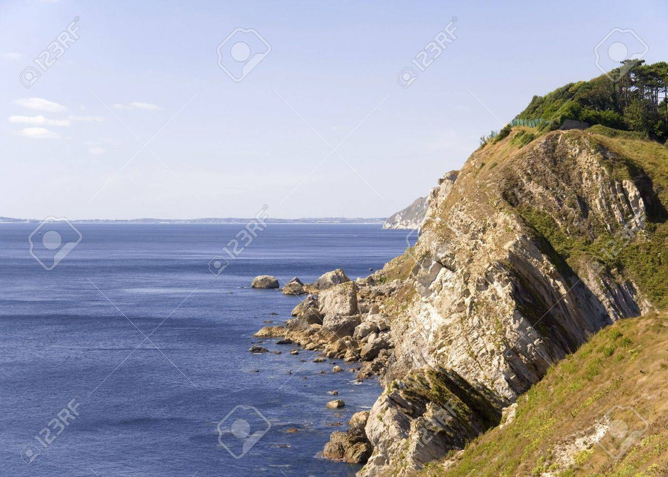 colour image Stair Holecoast coastal features and cliffs erosion