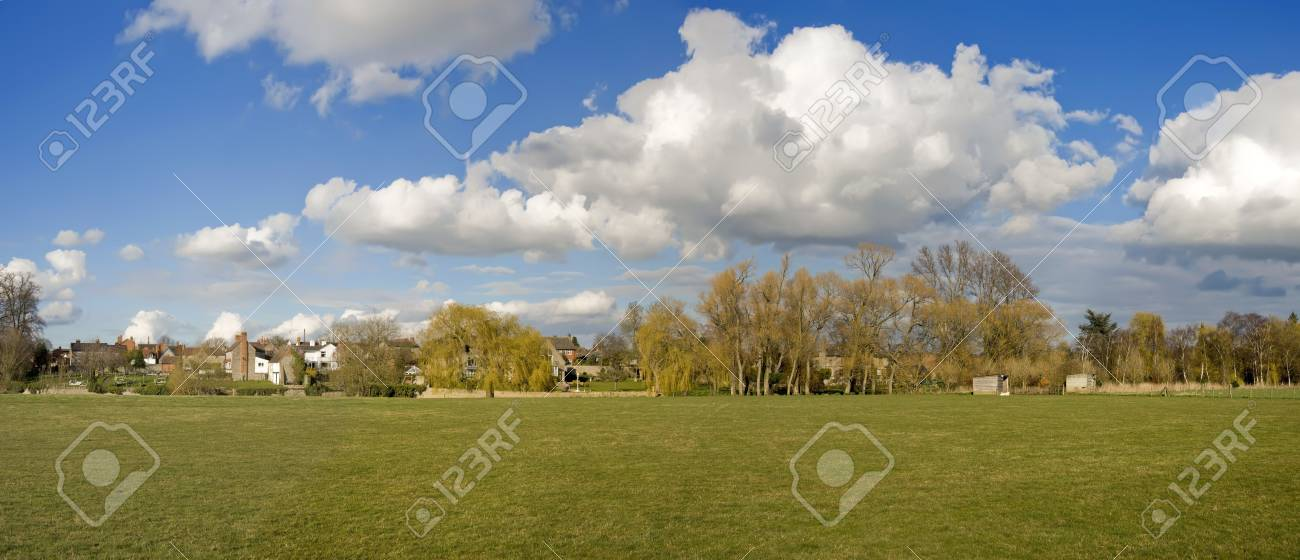village with houses in countryside Stock Photo - 2790316