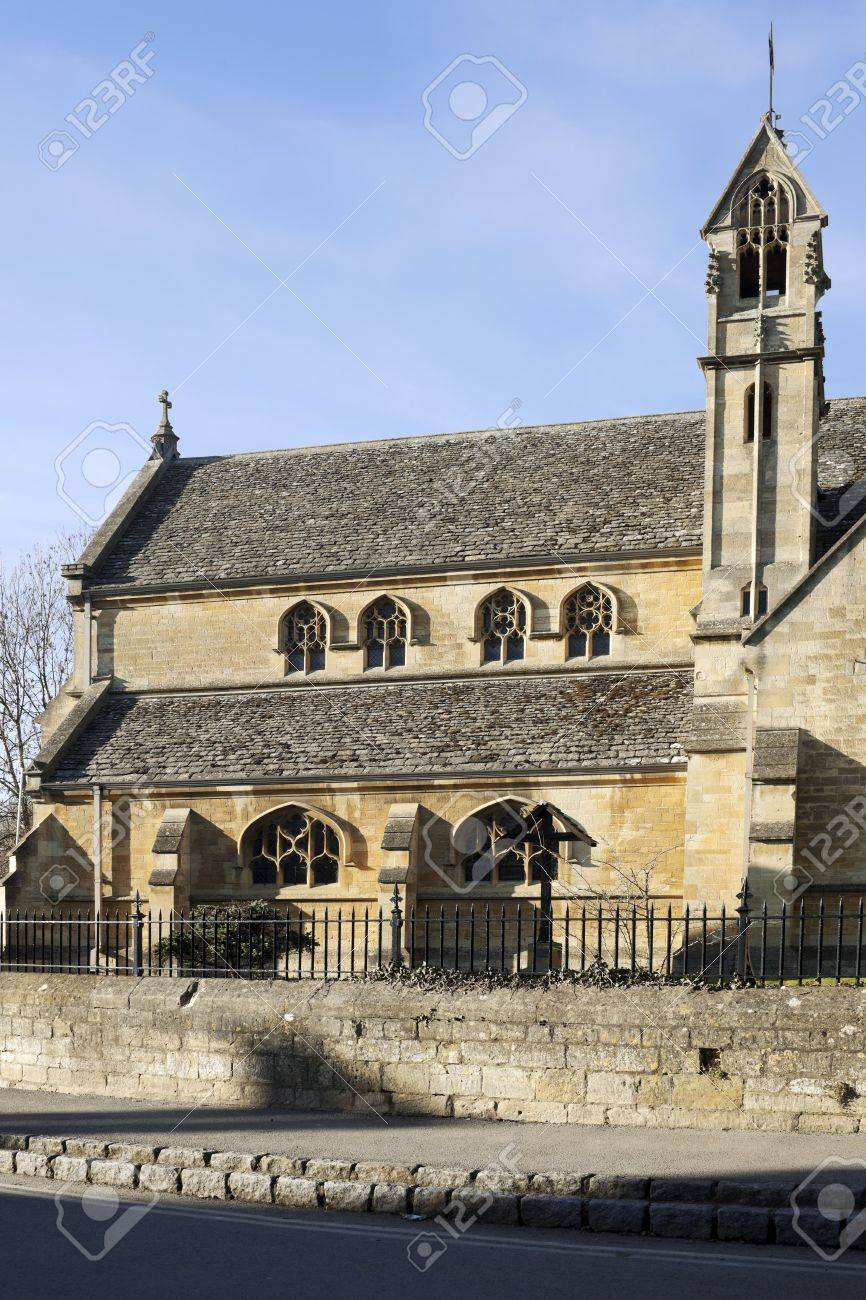 St catherine catholic church in chipping campden cotswolds gloucestershire midlands england uk Stock Photo - 4873329