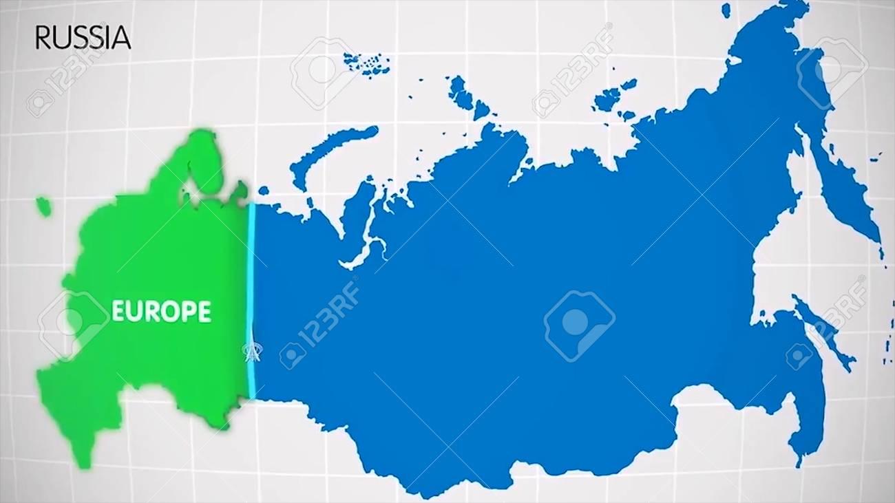 Europa E Asia Cartina.La Divisione Dell Europa E Dell Asia Sulla Mappa La Citta Ekaterinburg Divide L Europa E L Asia Eurasia Sulla Mappa Animazione Eurasia Animazione