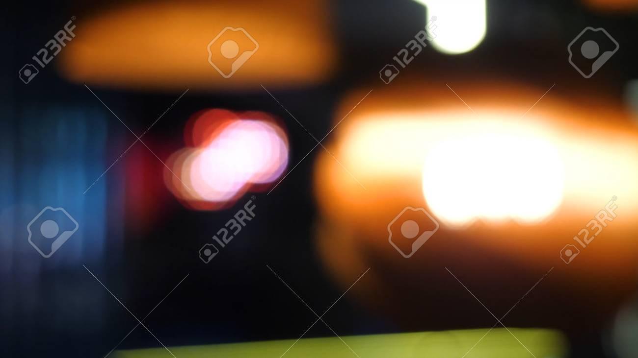Immagini stock lilluminazione calda proviene da splendide lampade