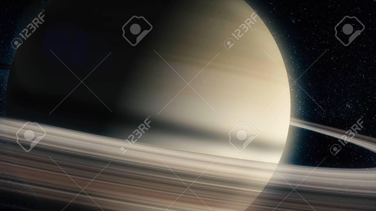 土星 高品質の太陽系の惑星 科学の壁紙 の写真素材 画像素材 Image