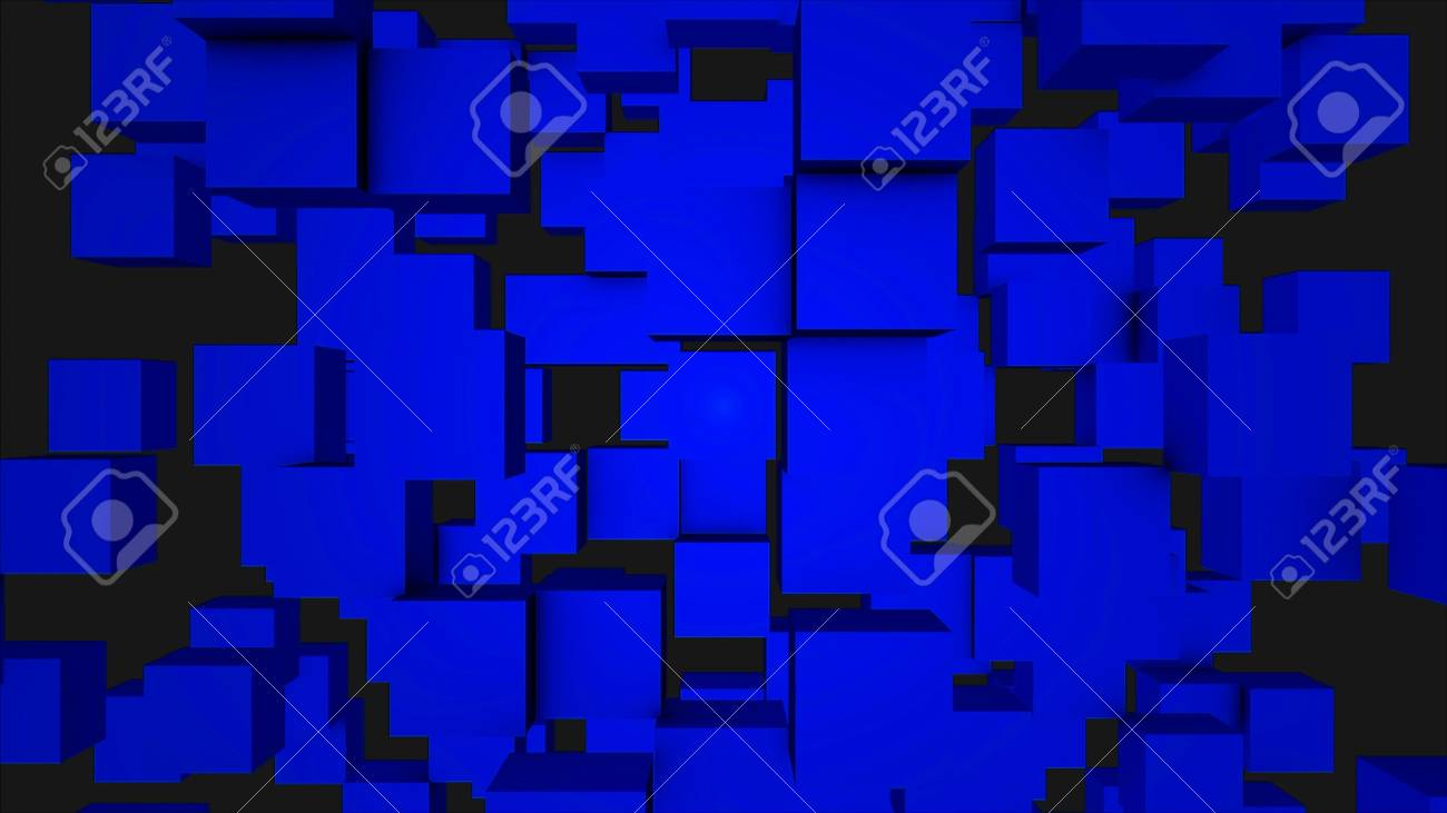 colorful cubes moving seamless loop seamless looping abstract