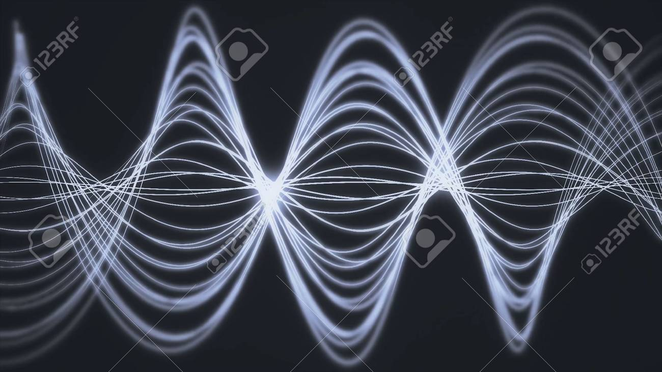 205ee6725e7 Seamless background animation of abstract wave form. flowing streaks. Motion  graphic and animation background