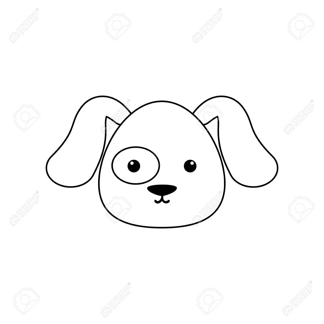dog drawing face royalty free cliparts vectors and stock