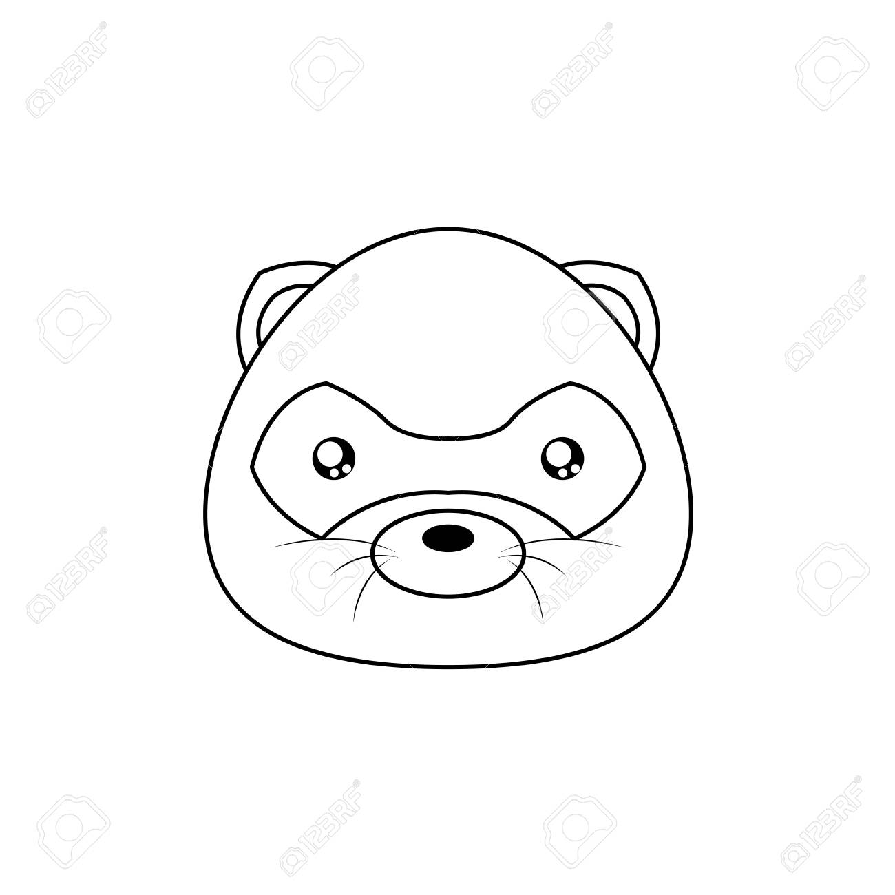 Opossum Drawing Face Royalty Free Cliparts Vectors And Stock