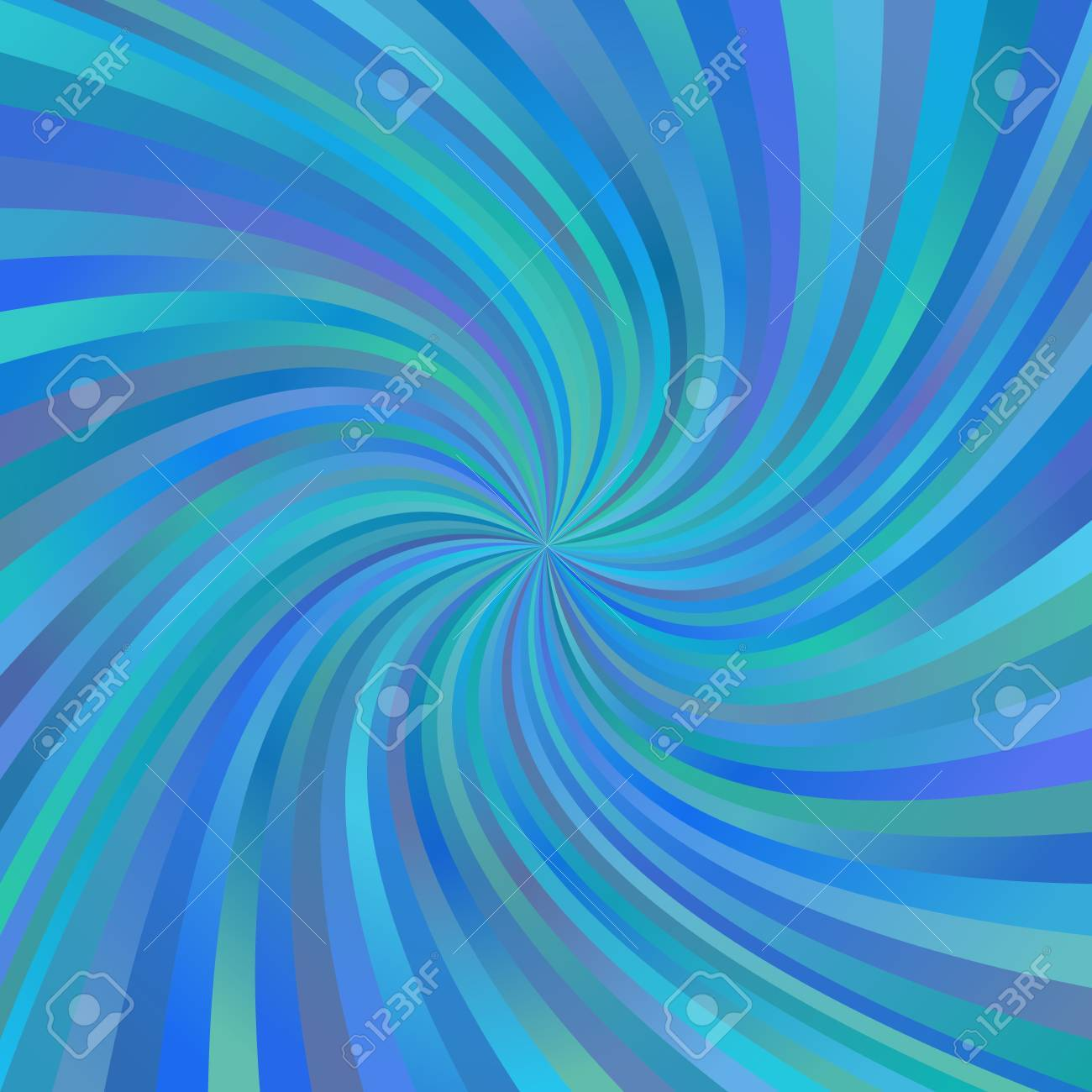 eae2ac9e37 Blue abstract multicolored spiral ray design background Stock Vector -  48448741