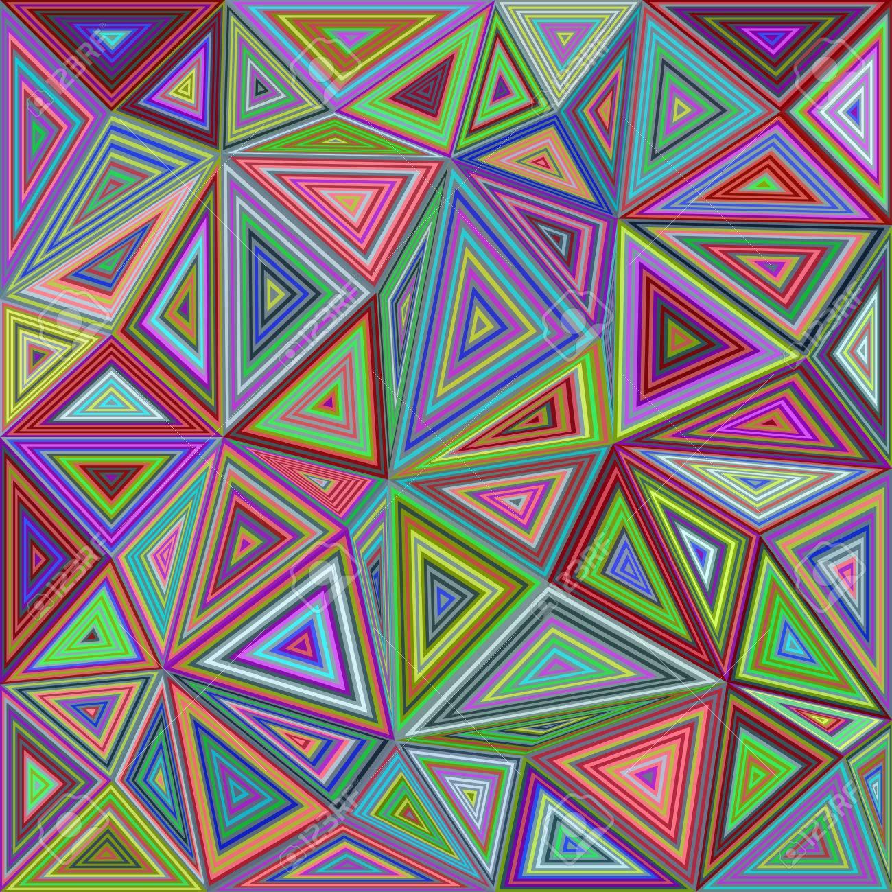 foto de archivo tringulo de colores de fondo de azulejos de mosaico de diseo vectorial