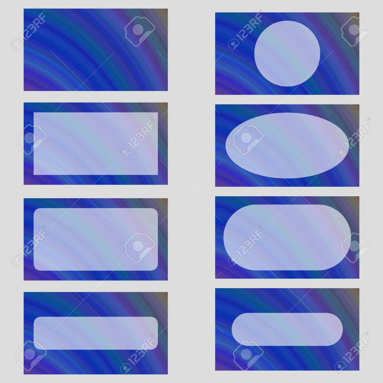 Blue abstract business card frame template design set royalty free blue abstract business card frame template design set stock vector 63667013 colourmoves