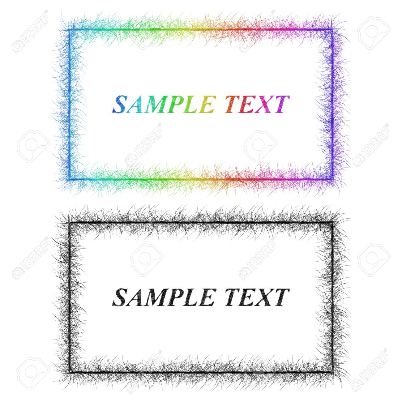 Colorful and black sketch business card frame designs royalty free colorful and black sketch business card frame designs stock vector 63667211 colourmoves