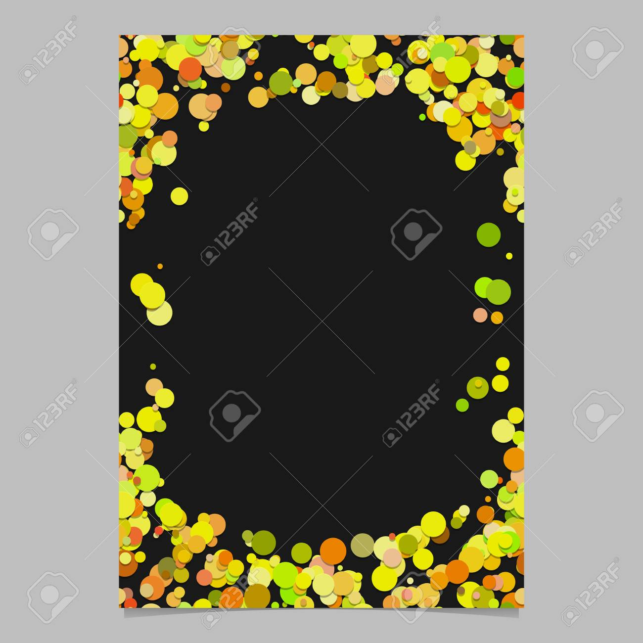 color abstract random dot pattern card background template