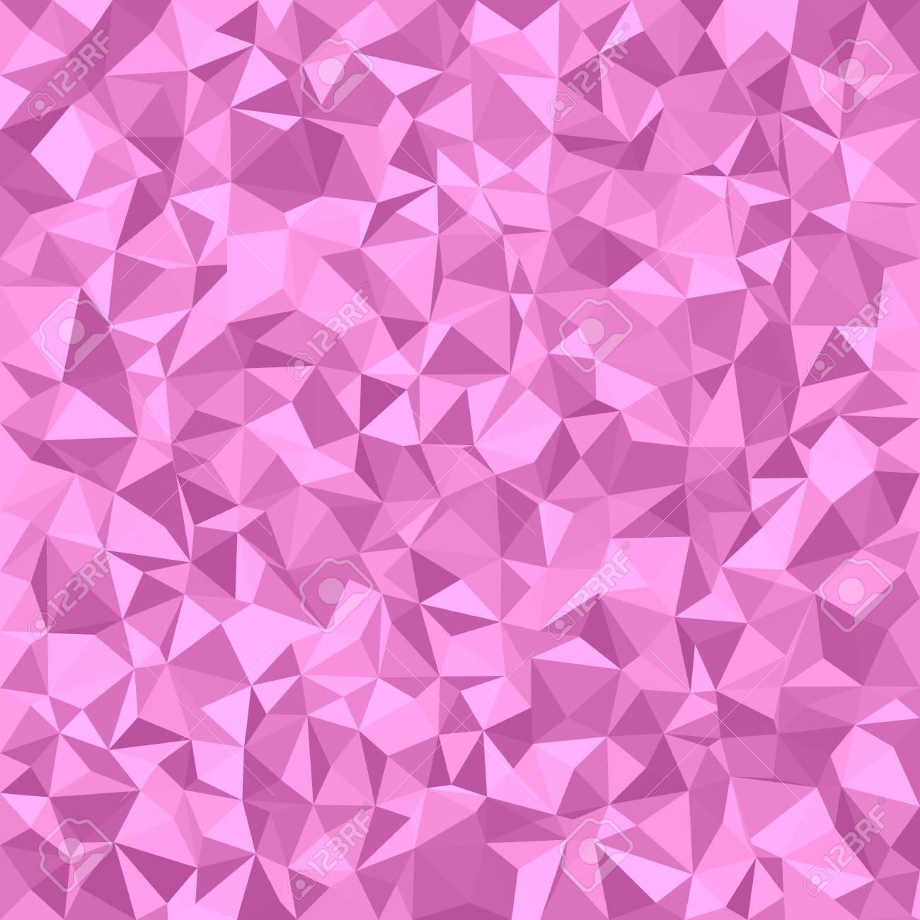 Triangulo De Fondo De Mosaico De Azulejos Diseno Grafico Vectorial - Azulejos-rosas
