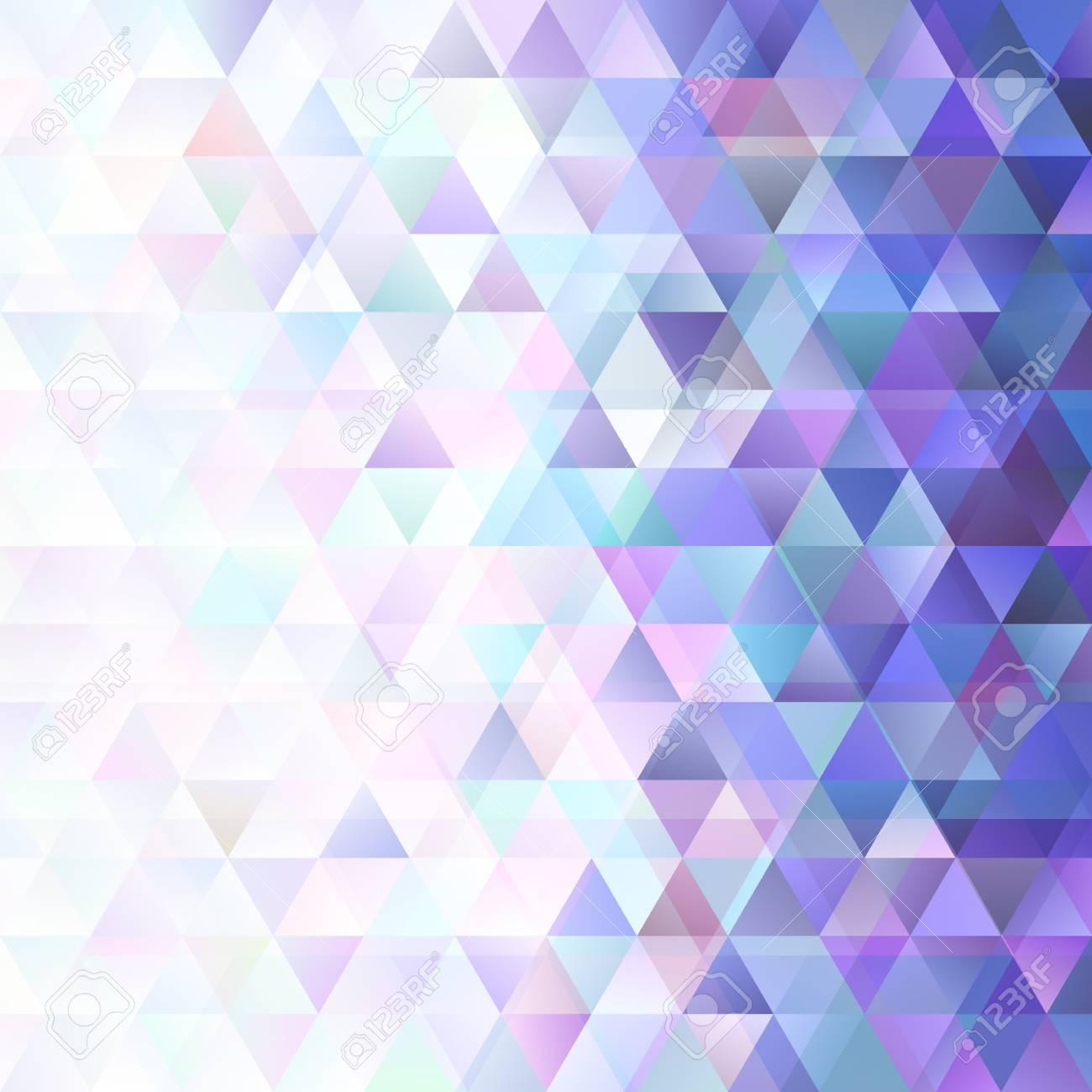 Gradient Retro Triangle Background Template Vector Graphic Design
