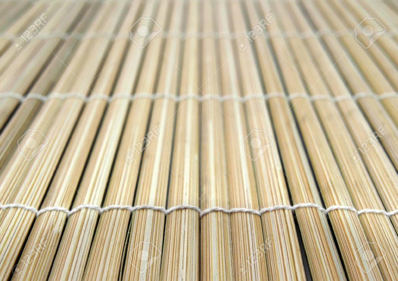 Bambus Matte Fur Sushi Lizenzfreie Fotos Bilder Und Stock