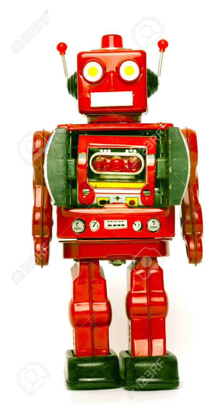 Immagini Stock - Retrò Robot Giocattolo Image 44547365.
