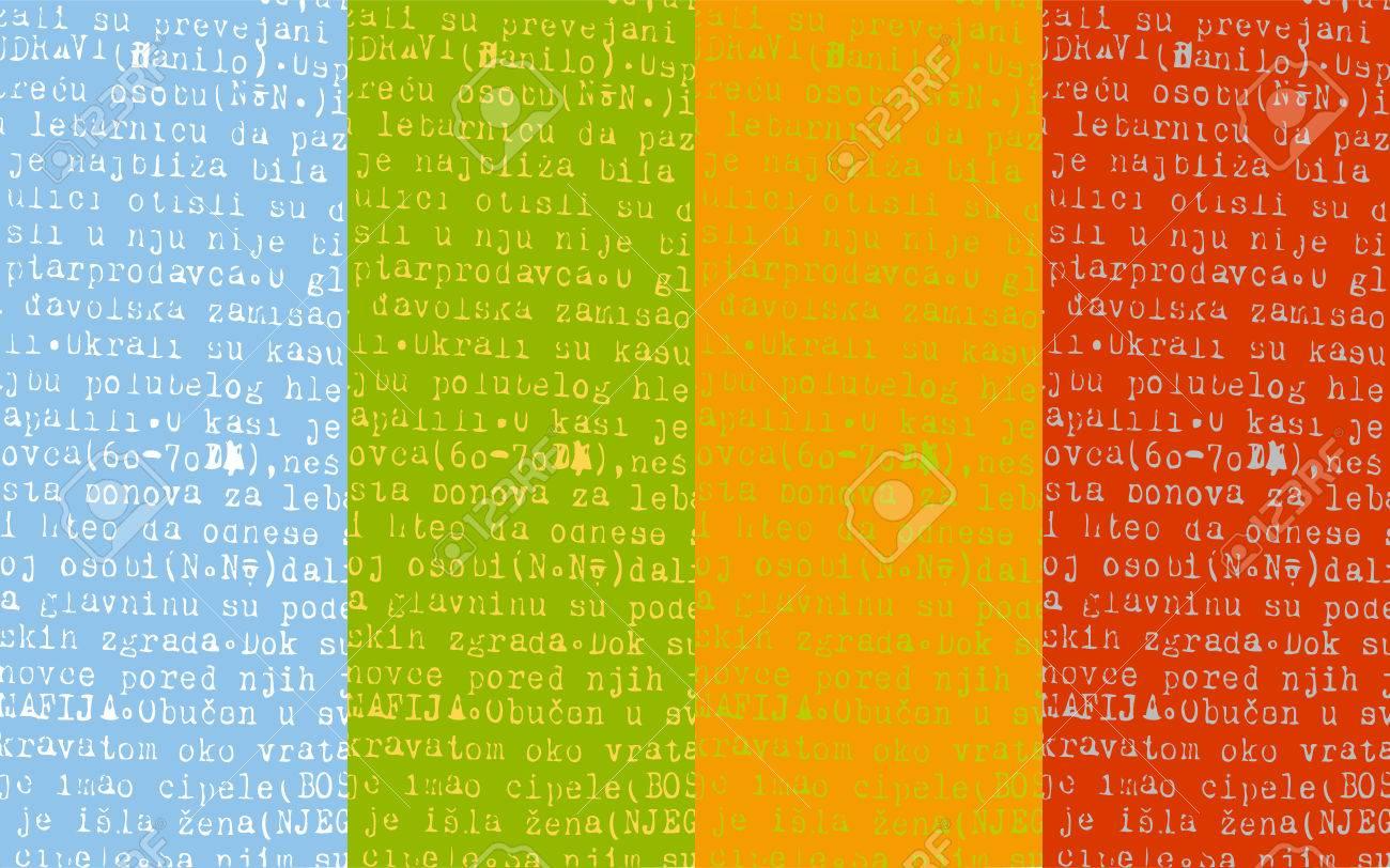 Type stripes Stock Vector - 3144569