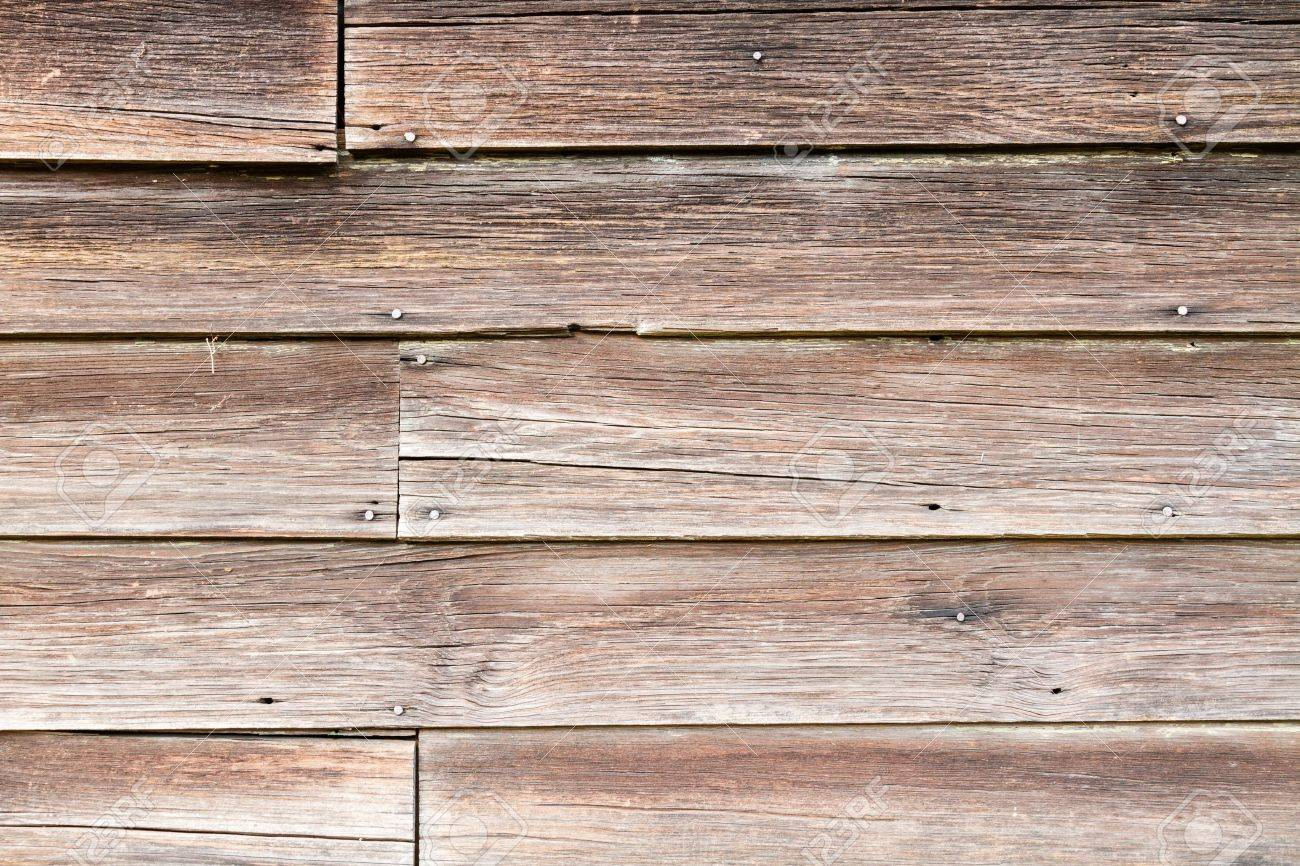 reclaimed wood background: Aged boards from an old warehouse - Reclaimed Wood Background Stock Photos. Royalty Free Reclaimed