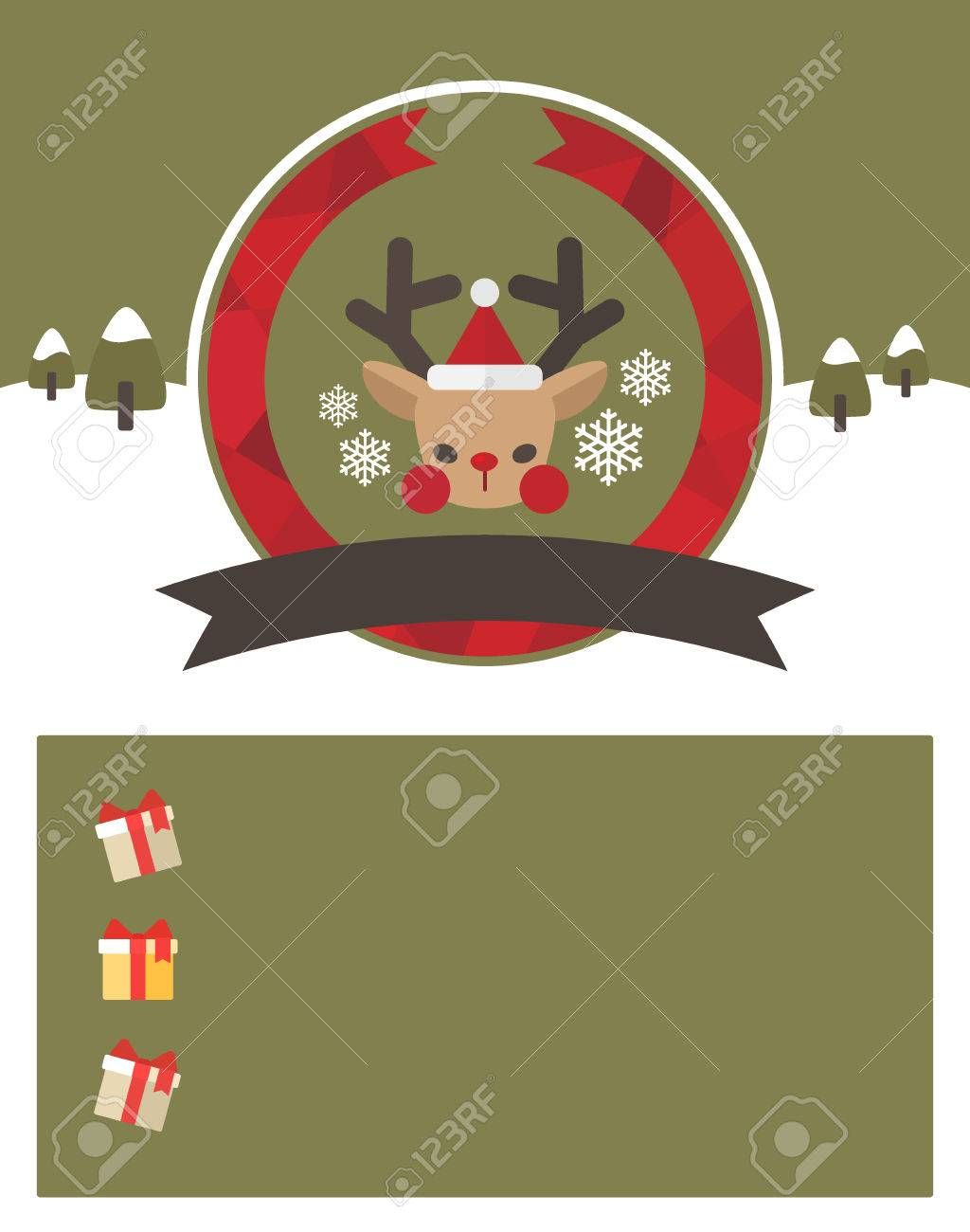 Christmas Event Template Royalty Free Cliparts Vectors And Stock