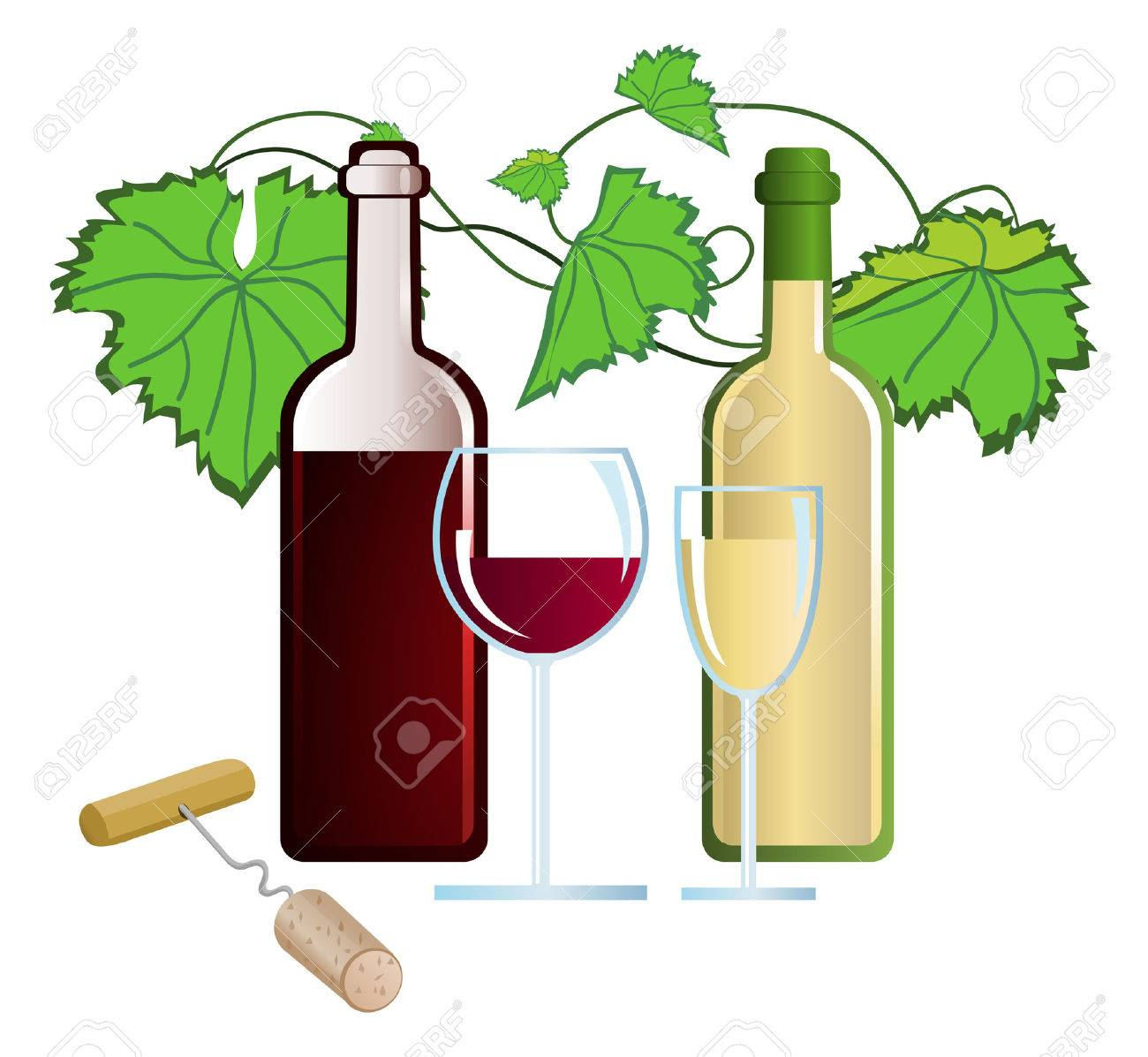clip arts of wine and corkscrew royalty free cliparts vectors and rh 123rf com