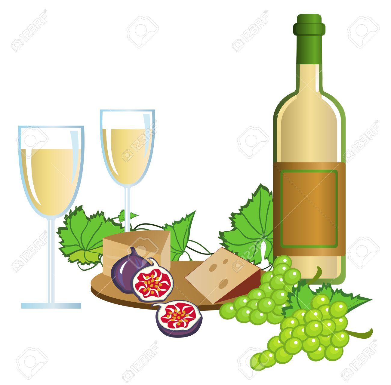 clip arts of wine fruits and cheese royalty free cliparts vectors rh 123rf com Wine Clip Art Wine Glass Clip Art
