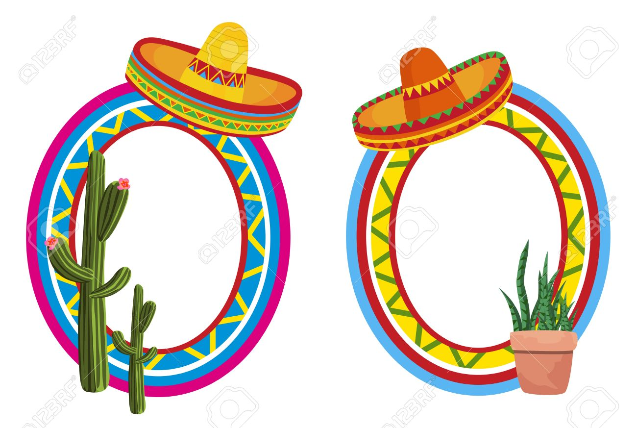 mexican frames royalty free cliparts vectors and stock rh 123rf com