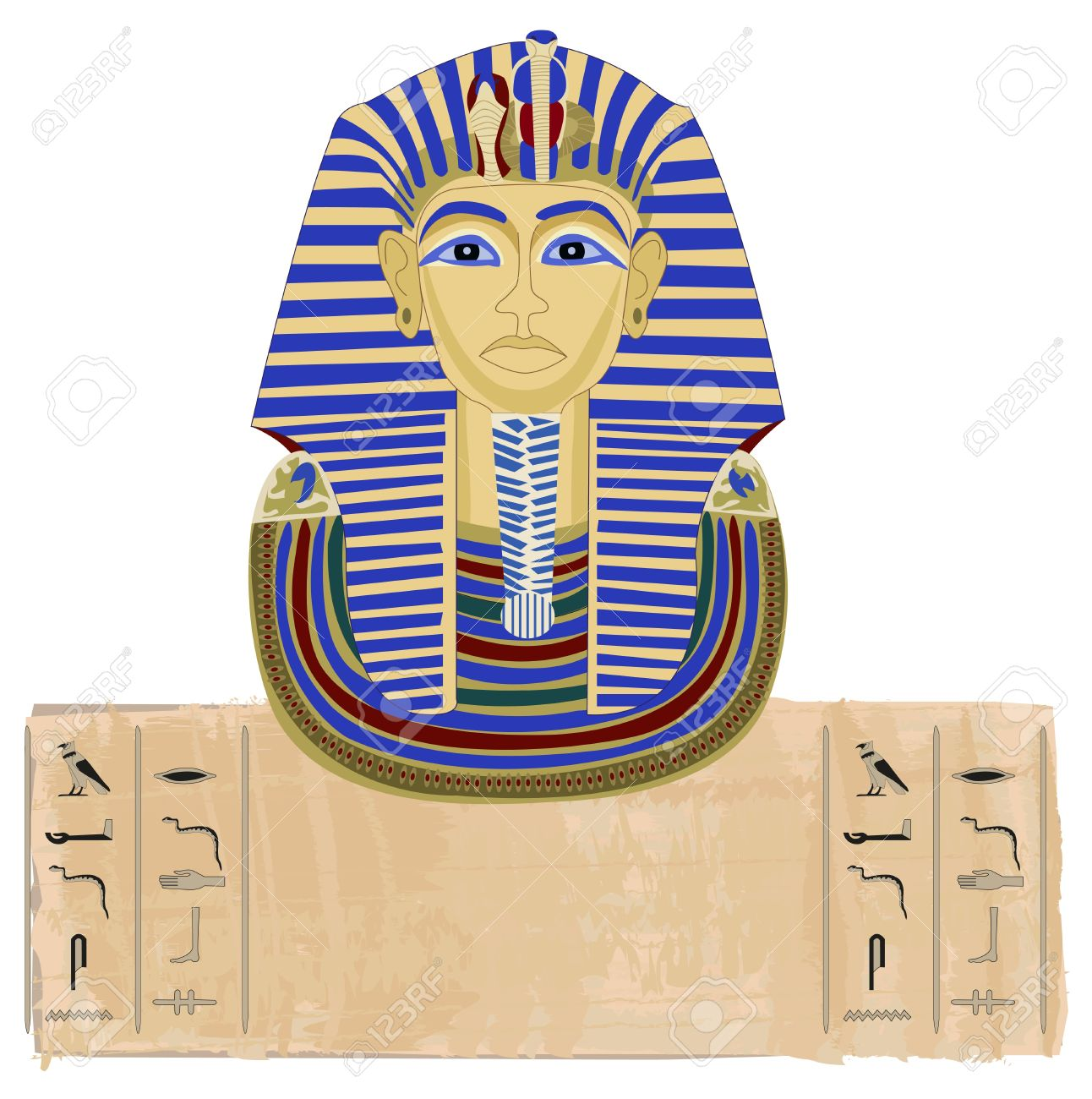 114 egyptian eagle cliparts stock vector and royalty free