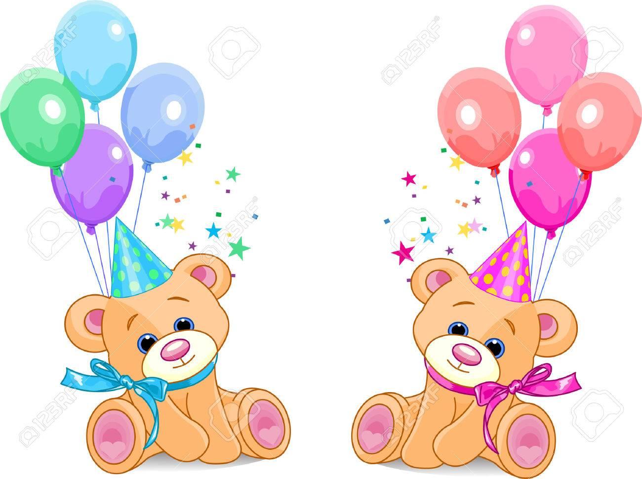 Поздравления с днем рождения близнецам (двойняшкам) 6