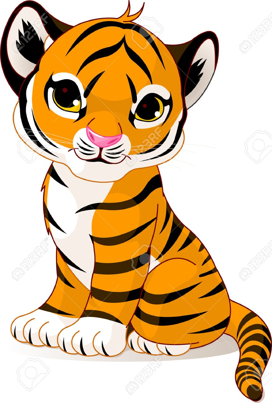 1 252 tiger cub stock vector illustration and royalty free tiger cub rh 123rf com tiger cub face clipart tiger cub face clipart
