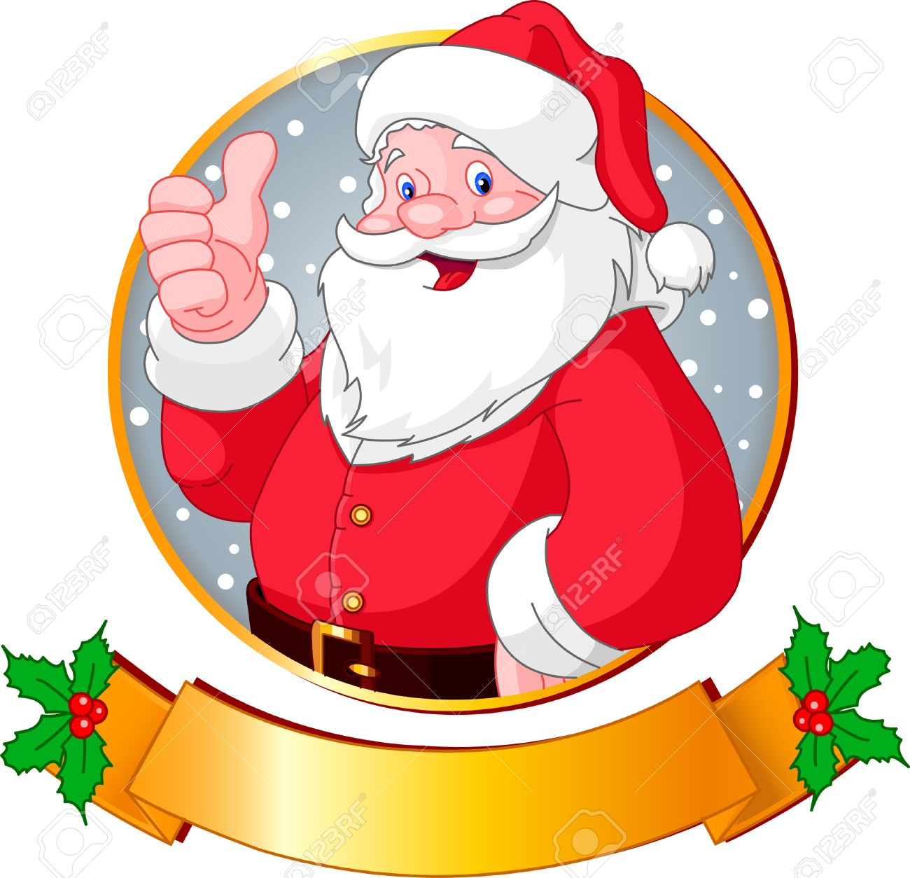 Christmas greeting card with santa claus royalty free cliparts christmas greeting card with santa claus stock vector 5959236 m4hsunfo