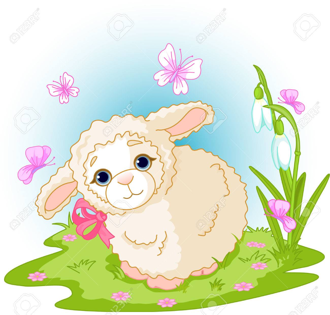 Image result for spring lambs clipart