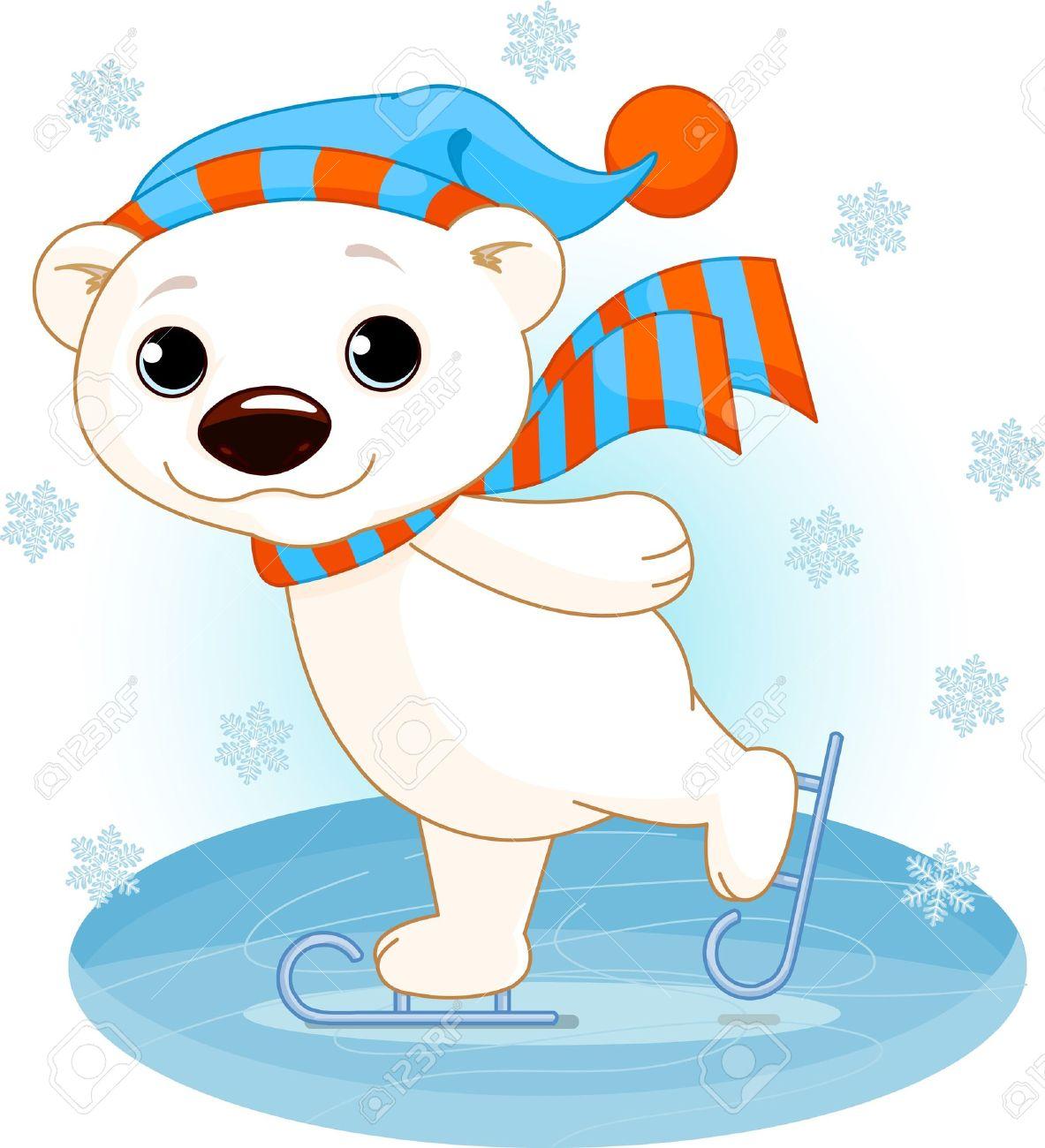 14 117 polar bear stock vector illustration and royalty free polar rh 123rf com free clipart images polar bear Polar Bear Plunge Clip Art