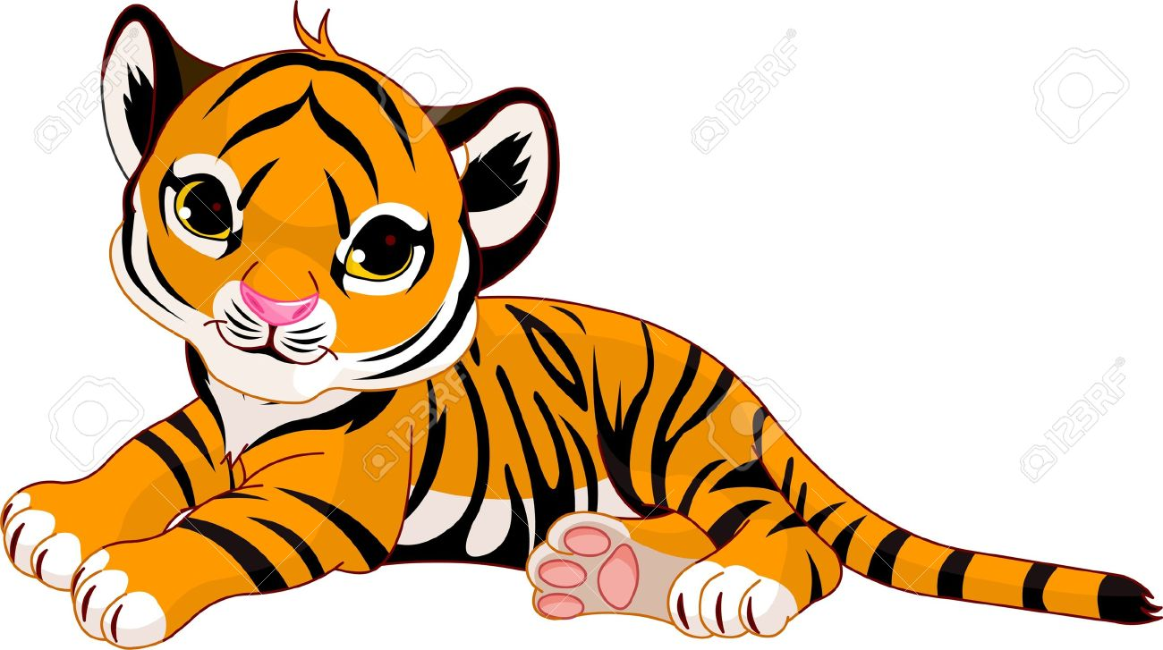 1 252 tiger cub stock vector illustration and royalty free tiger cub rh 123rf com tiger cub face clipart tiger cub clipart free