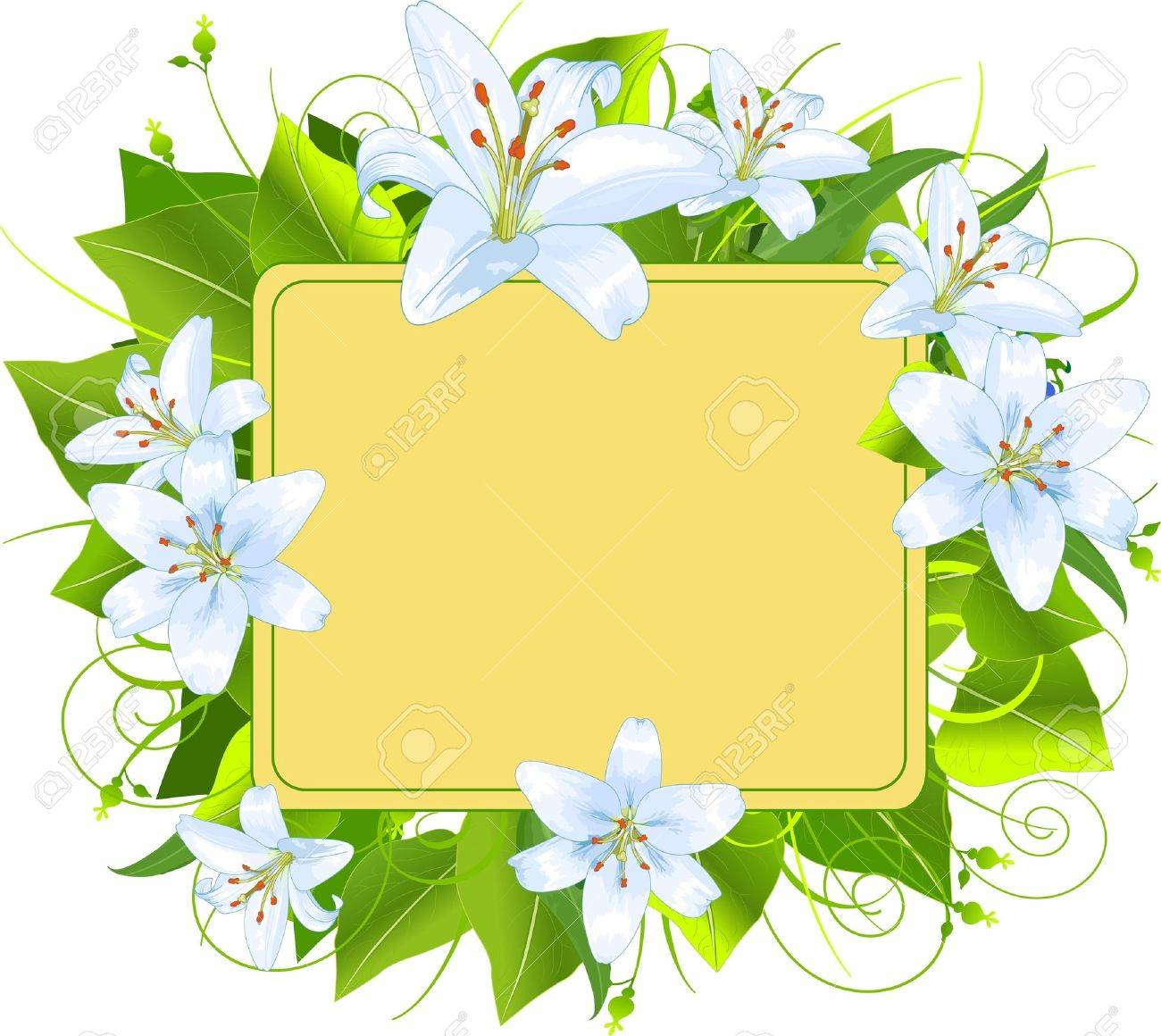 Easter frame, perfect for greeting cards or retail signage Stock Vector - 9220483
