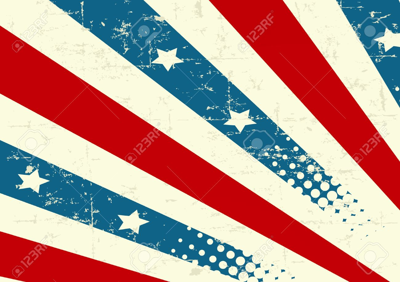 illustration of patriotic background royalty free cliparts vectors