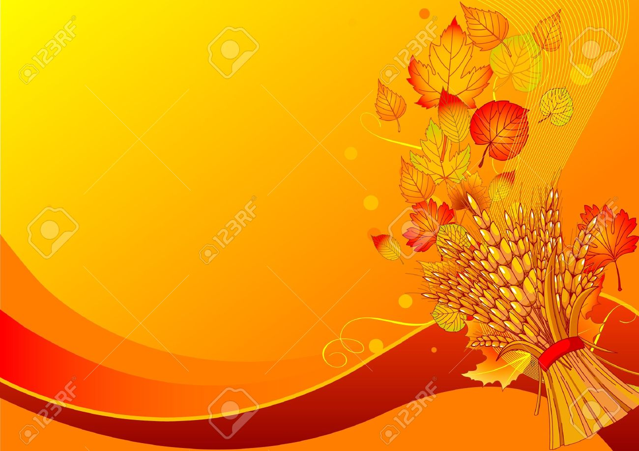 Harvest background with place for your text Stock Vector - 10370044