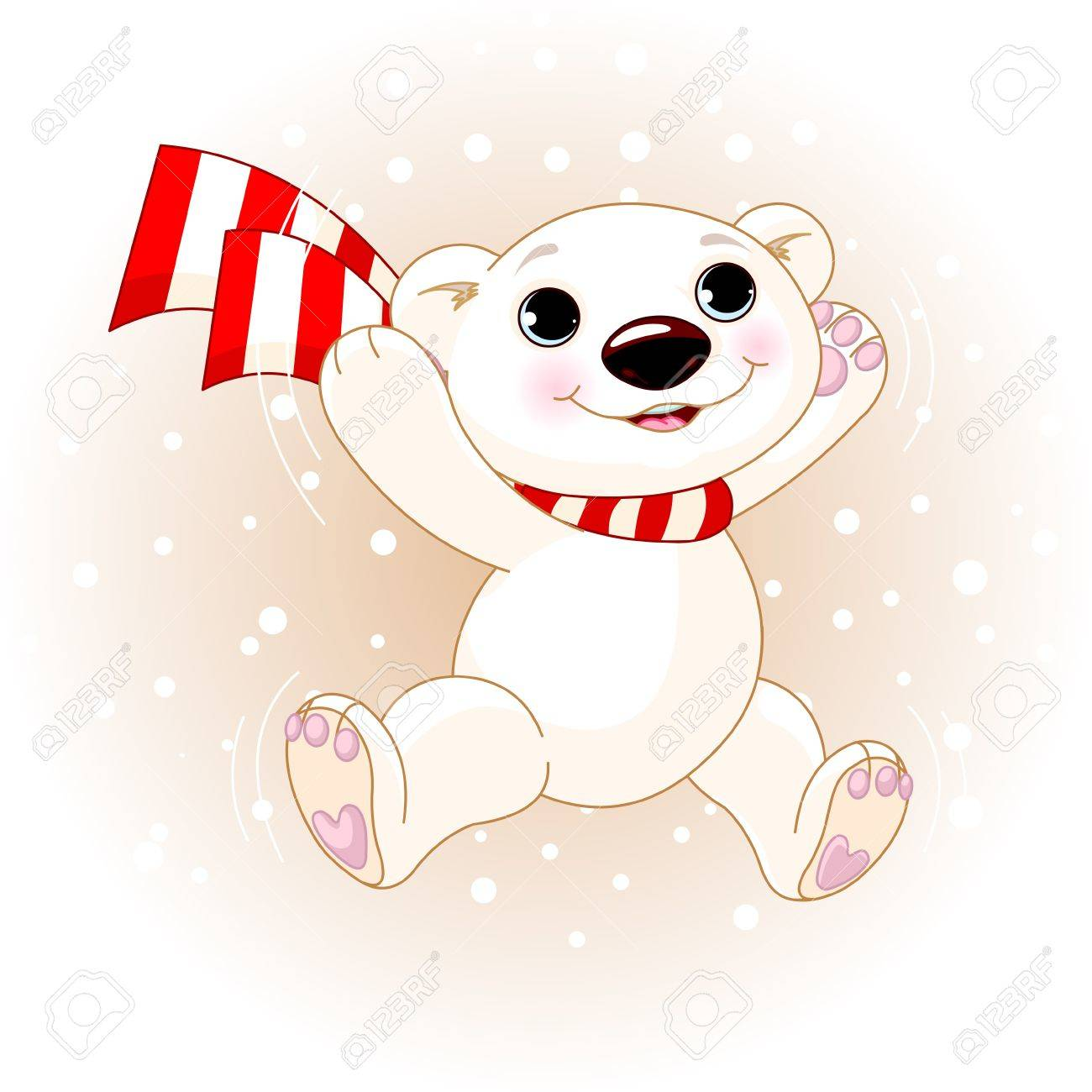 Cute christmas animals clip art