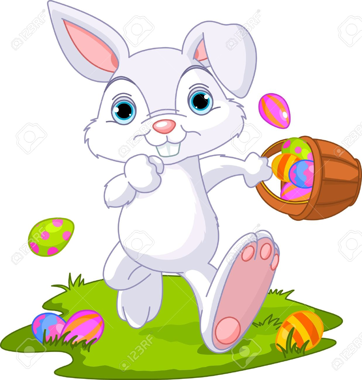 Cute Easter Bunny Hidi...
