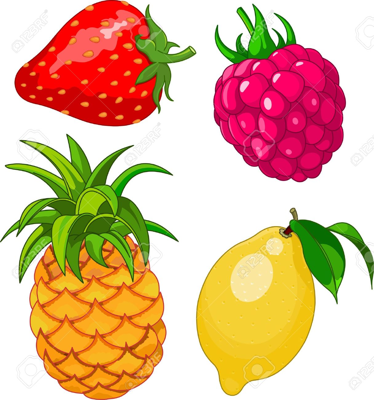 Clip Art Strawberry Stock Photos Images. Royalty Free Clip Art ...